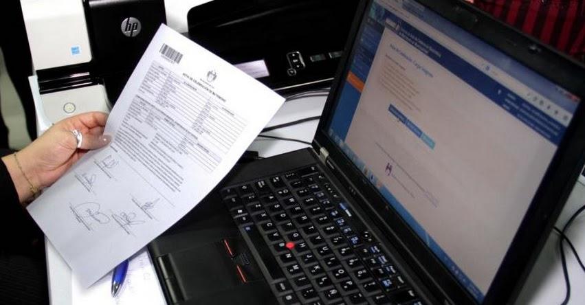 RENIEC: Trámite por internet para copias de actas de nacimiento, matrimonio y defunción - www.reniec.gob.pe