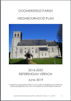 Cover of Dogmersfield Neighhbourhood Plan