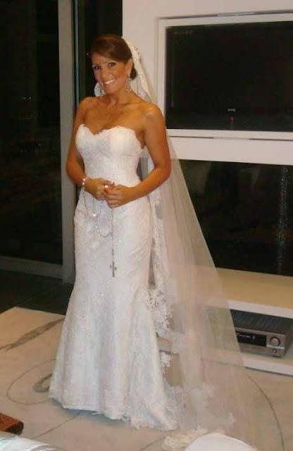 Leka do bbb1 vestida de noiva