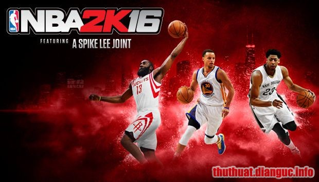 Download Game NBA 2K16 Full Crack – Game Bóng Rổ PC