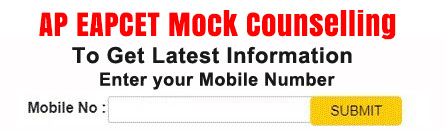 EAPCET Mock Counselling 2021