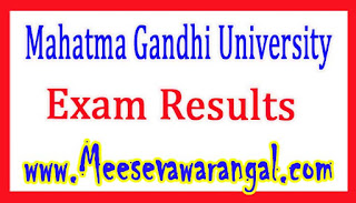 Mahatma Gandhi University M.Sc Zoology (Non-CSS) IIIrd Sem Supply Dec 2015 Exam Results