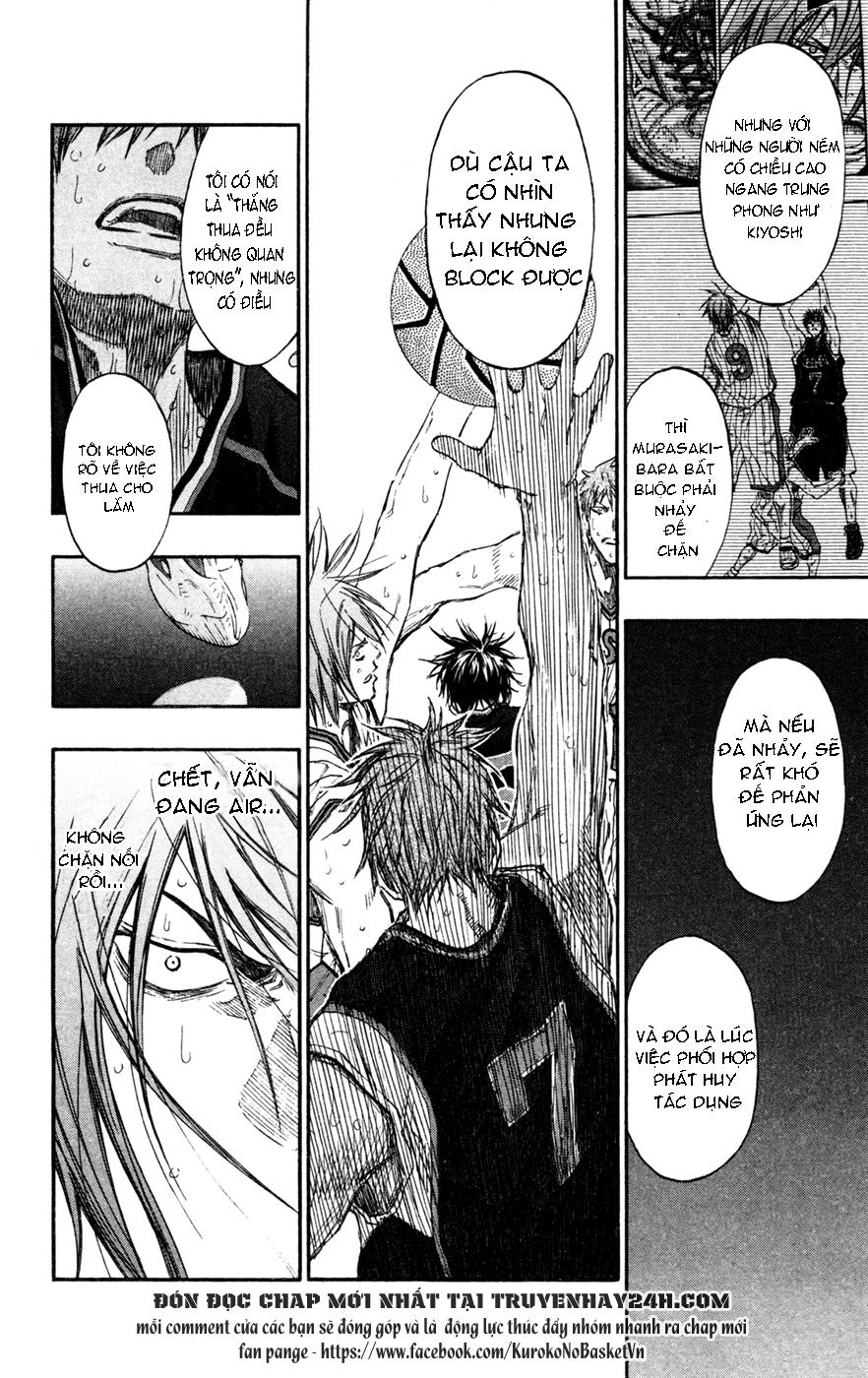 Kuroko No Basket chap 152 trang 18