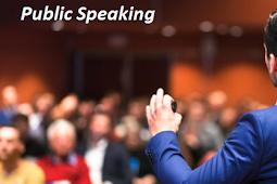 TOTURIAL PUBLIC SPEAKING