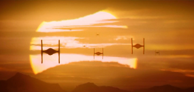 Trailer International Nou Star Wars The Force Awakens: Tie-Fighters pe planeta Jakku