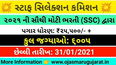 SSC Combined Graduate Level (CGL) Examination Released 2020