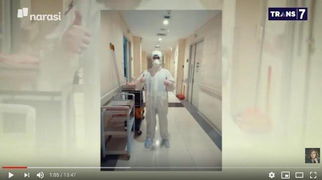 Cerita Dokter Luna yang Masih Bertugas Merawat Pasien Covid-19 Meski Sedang Hamil 8 Bulan