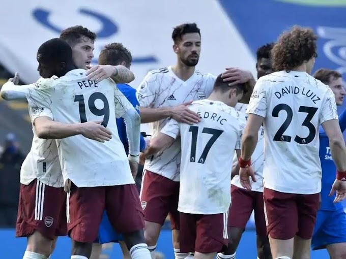 EPL; Arteta's Men Made Surprise Comeback To Beat Leicester