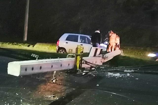 Osorno: Accidente vehicular en acceso a Ovejería