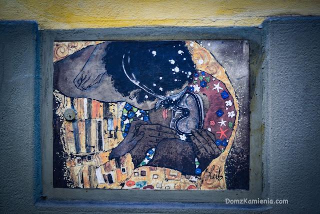 Florence Street art Dom z Kamienia