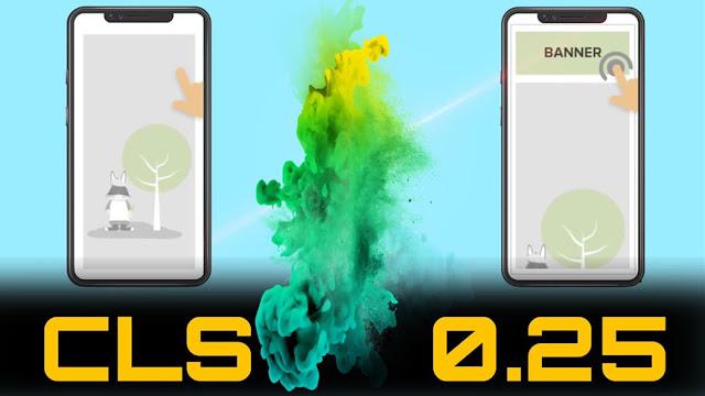 مشكلة CLS أكثر من 0.25 شرح بالفيديو الحل النهائي