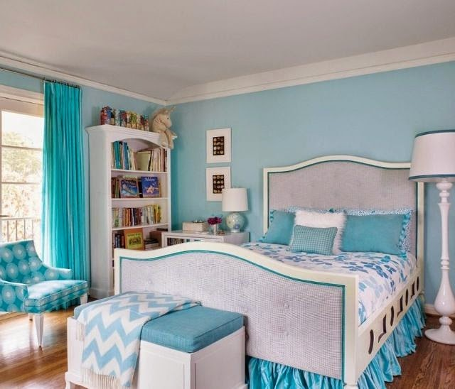 Sky Blue Bedroom Design And Ideas