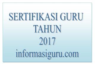 Urutan Prioritas Peserta Sertifikasi Guru 2017