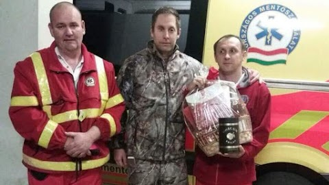 Szívszorító: így köszönte meg egy apa, hogy a nyíregyházi mentők megmentették az életét