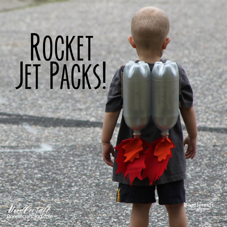 Super Sci-Fi Rocket Fueled Jet Pack--Upcycled Craft DIY