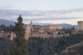 Alhambra sunset