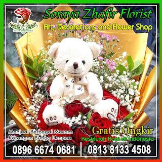 karangan bunga buket