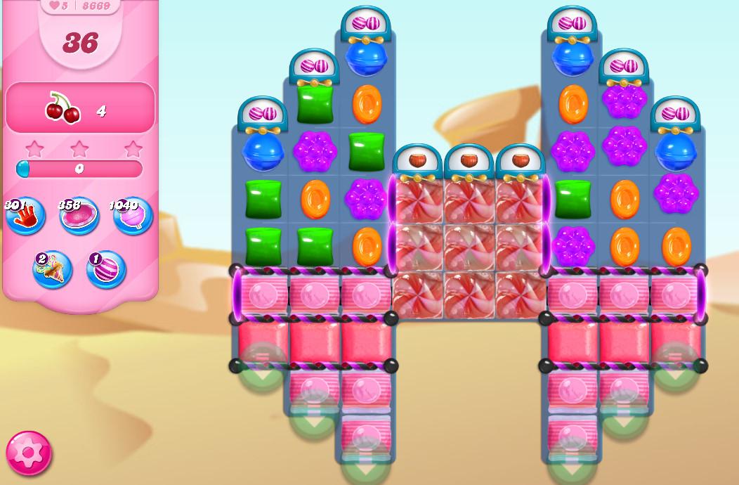 Candy Crush Saga level 8669