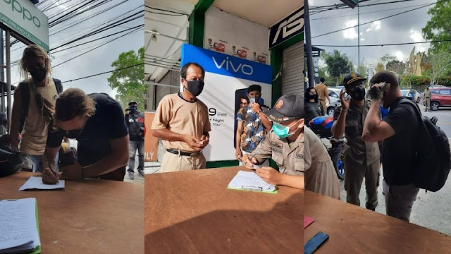 23 people fined on first day of mandatory mask rule in Bali