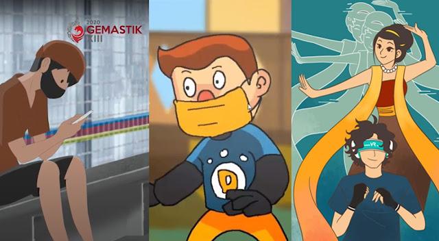 Tiga Tim Animasi FSRD ISI Surakarta Lolos ke Final GEMASTIK XIII 2020