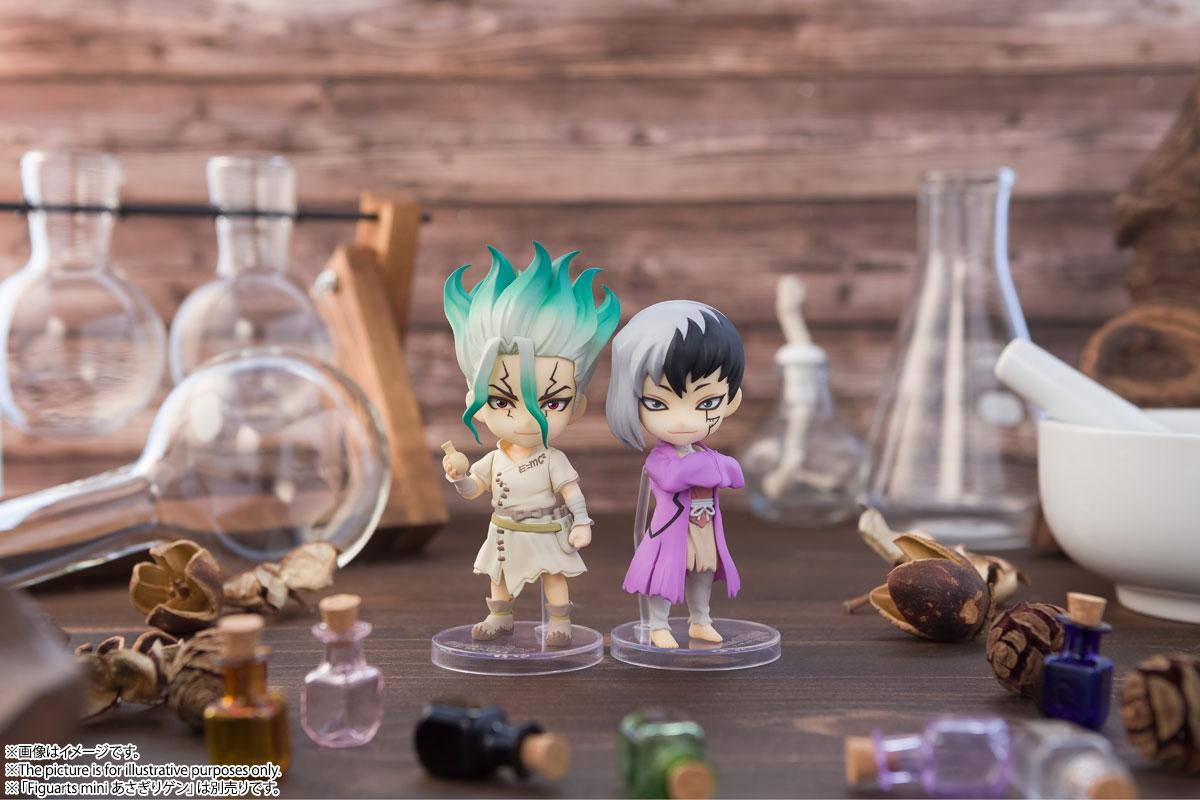 Gen Asagiri y Senku Ishigami Dr. Stone