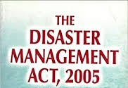 graphic (Disaster Management Act, 2005)