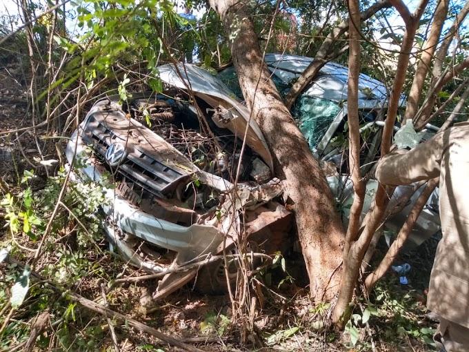 CAXIAS - Corpo de bombeiros salva vida em local de acidente no povoado brejinho