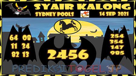 Prediksi Togel Kalong Sidney Selasa 14 September 2021