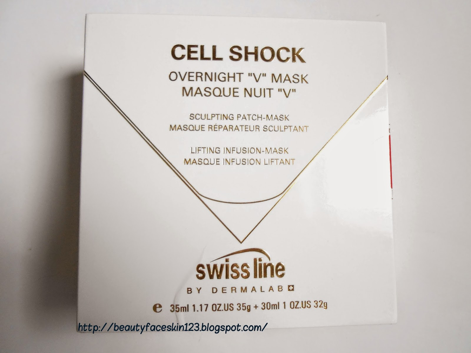 "Swiss Line Cell Shock  Overnight ""V"" Mask"