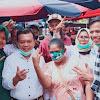 Masih di Bungo, Al Haris Blusukan ke Pasar dan Silaturahmi dengan 3 Tim Sayap Haris-Sani