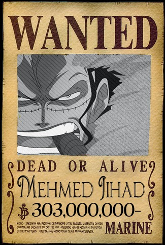List Wanted / Buronan Poster ( One Piece Battle Indonesia )