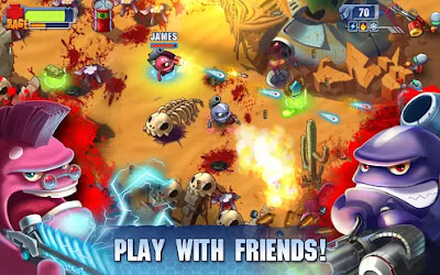 Kill the Aliens and Monsters with the sequel Monster Shooter 2 : Back to Earth but this time your friends and Mech Suit is there to help you