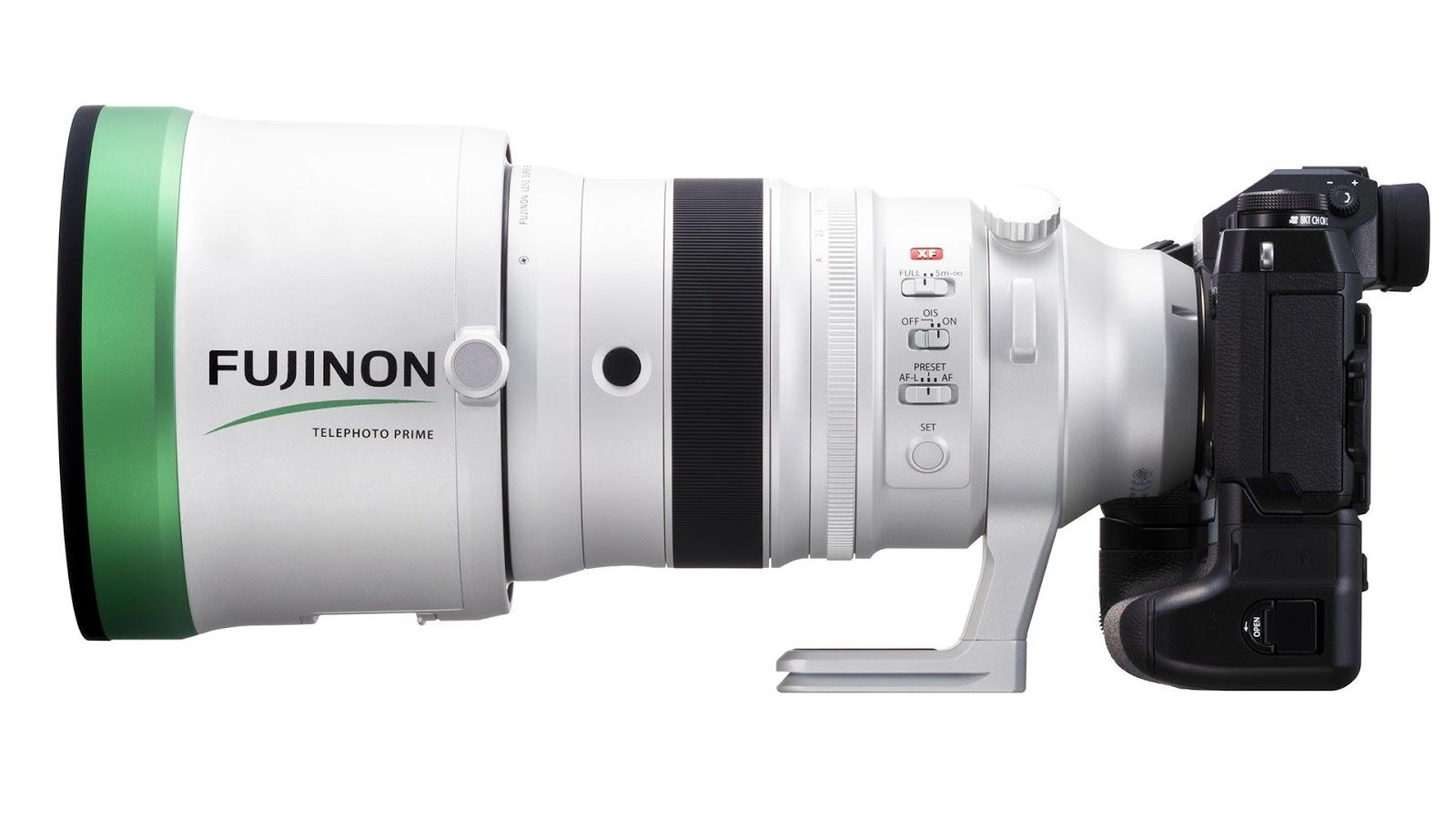 Объектив Fujinon XF 200mm f/2 R LM OIS WR