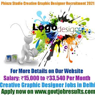 Phinzu Studio Creative Graphic Designer Recruitment 2021-22
