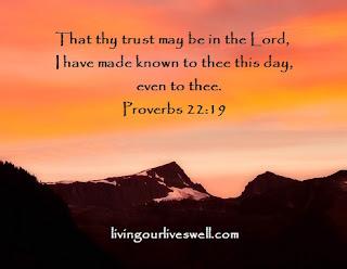 Proverbs 22:19