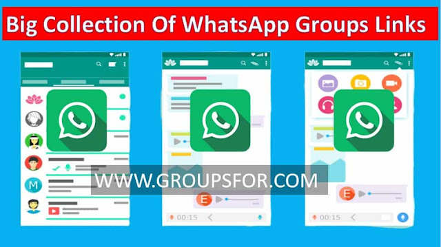 latest collection of groups links whatsapp