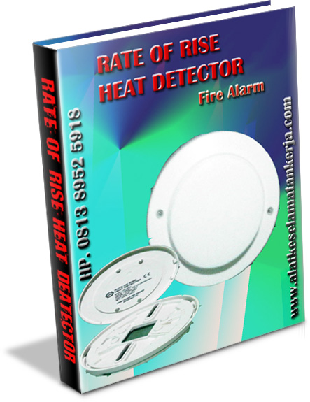 Rate Of Rise Heat Detector Fire Alarm System Conventional