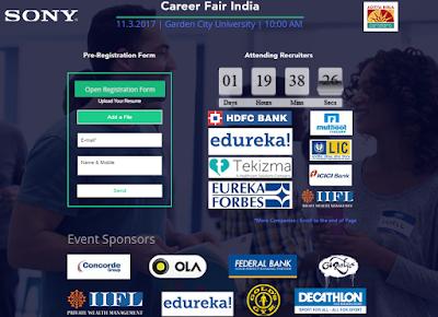 Career Fair India Mega Off-Campus Job Fair: Multiple Companies for Multiple Job Position