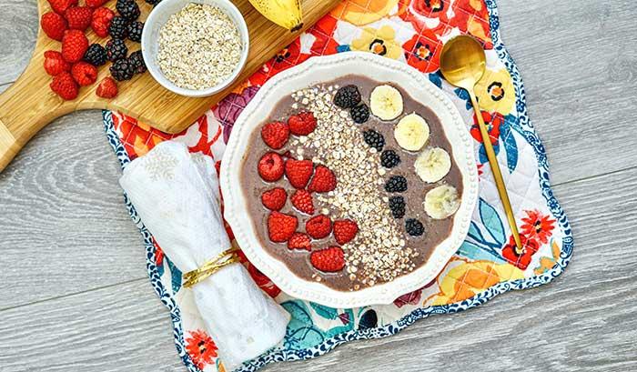 Acai Berry Smoothie Bowl Recipe
