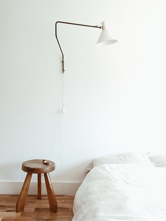 Eclectic minimalistic bedroom by Kirill Bergart