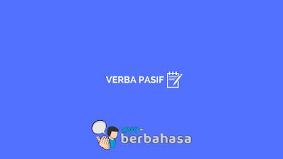Contoh verba pasif