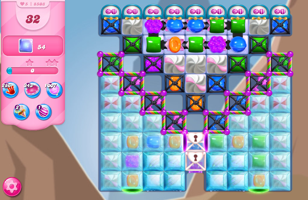 Candy Crush Saga level 8508