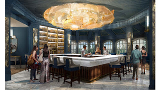 Enchanted Rose Grand Floridian Lounge Concept Art