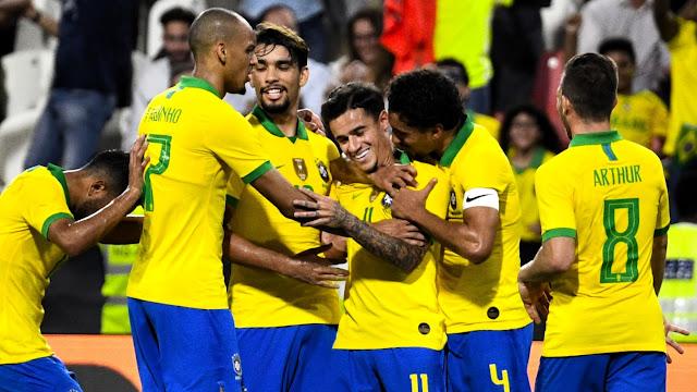 البرازيل تسحق كوريا الجنوبية وديًا