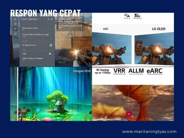 fitur gaming di LG Oled TV