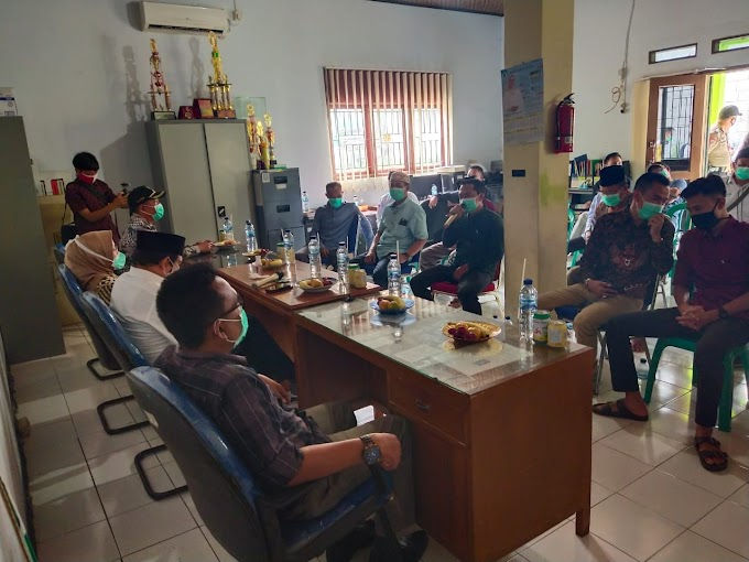 Polsek Waringinkurung : Laksanakan Pengamanan Ditengah Pandemi COVID-19
