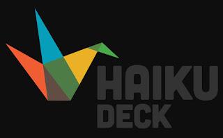aplikasi presentasi haiku deck