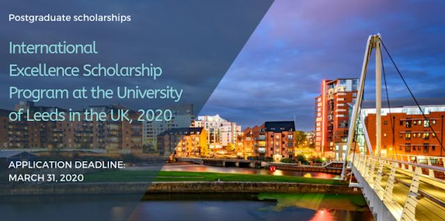 منح هامة جدا مقدمة من جامعة ليدز للدراسة بالمملكة المتحدة برسم سنة 2020
