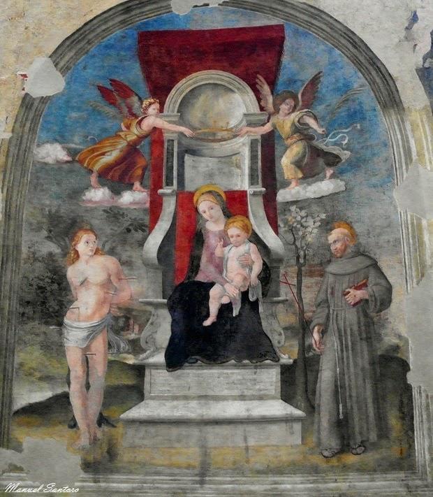 Piediluco, chiesa di San Francesco