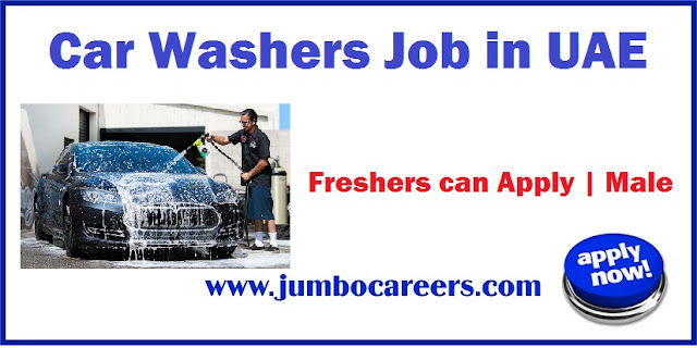 Car Washers Job in UAE